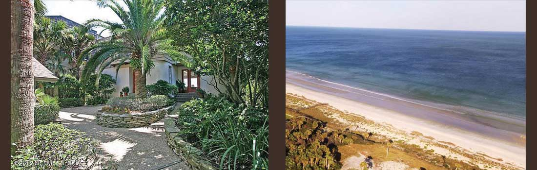 Ocean front home and lot sold kin Ponte Vedra Beach Florida
